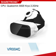 Excellent performance CPU snapdragon 820 vr headset built-in 2K HD display with good quality