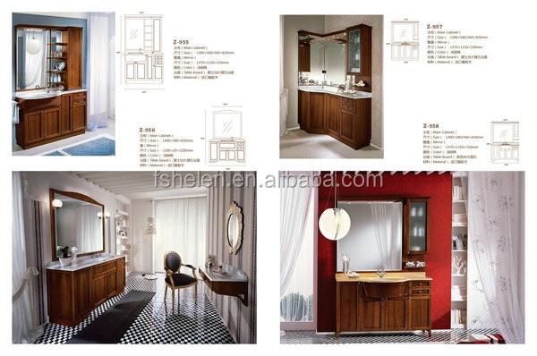 Oak Floor Standing Bathroom Cabinets : Floor standing single basin bathroom vanities white color