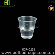 Custom printed disposable cup plastic 8 oz cold drinks taste cup / airline cup