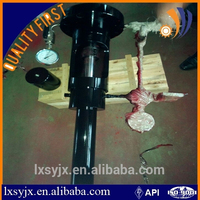 Top quality BPV lubricator running tools / Back pressure valve lubricator for Oil Drilling Wellhead