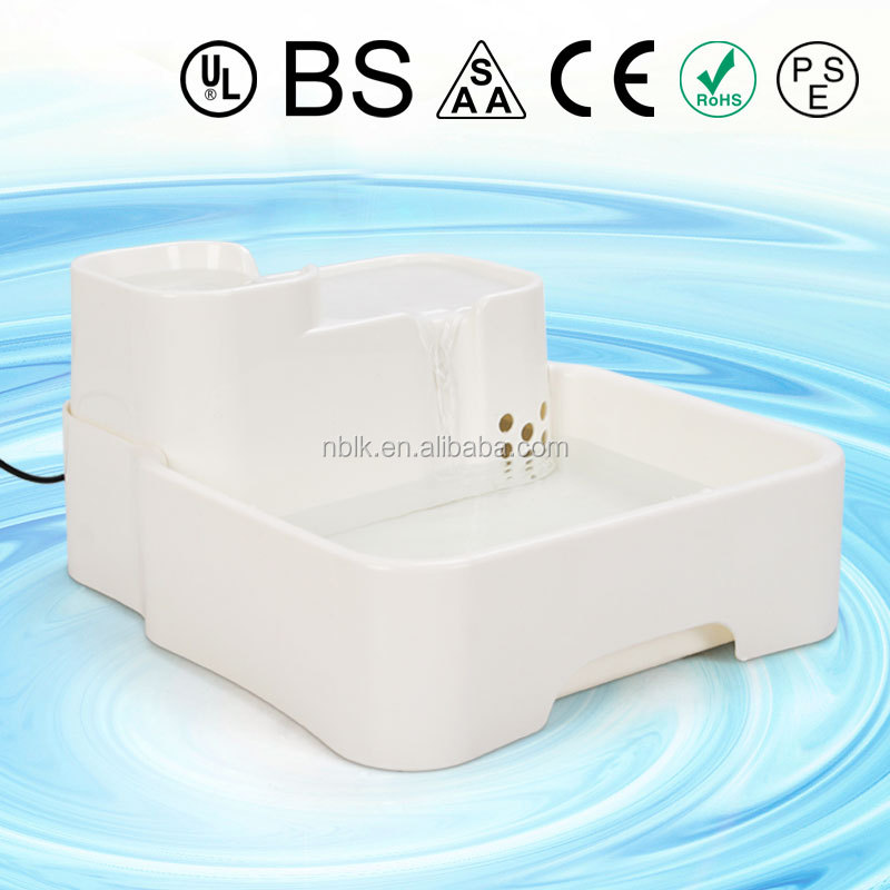 Automatic Waterfall Circulating Pet Drinker/Pet Drinking Fountain/Pet Water fountaion