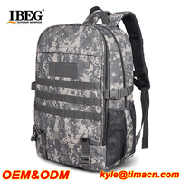 Excellent Softback ACU Camoflage water resistant 5.11 tactical backpack