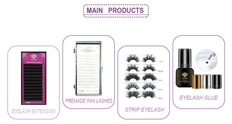 Free Shipping 12mm 13mm 15mm Synthetic Silk Ellipse Flat False Eyelashes Extensions