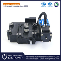 Strong sealling good quality HELI forklift customized hydraulic transmission control valve with best price