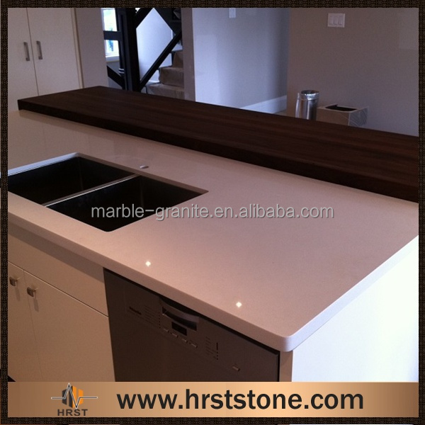 laminate Sahara-Beige Quartz resin Countertops sale