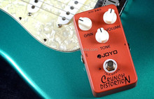 DIHAO Aluminum Alloy JF-03 Crunch Distortion Electric Guitar Effect Pedal with Full-Stack Marshall Gain Three Buttons