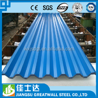 corrugated metal steel roof sheet prices/PPGI ppgL color coated pregalvanized steel coil/sheet corrugated roofing sheet