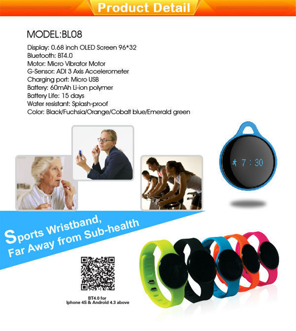 color smart band