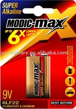 Alkaline Battery 9V 6LR61