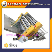 WD-HTM2-210 Automatic V folded hand towel embossing facial tissue paper processing machine
