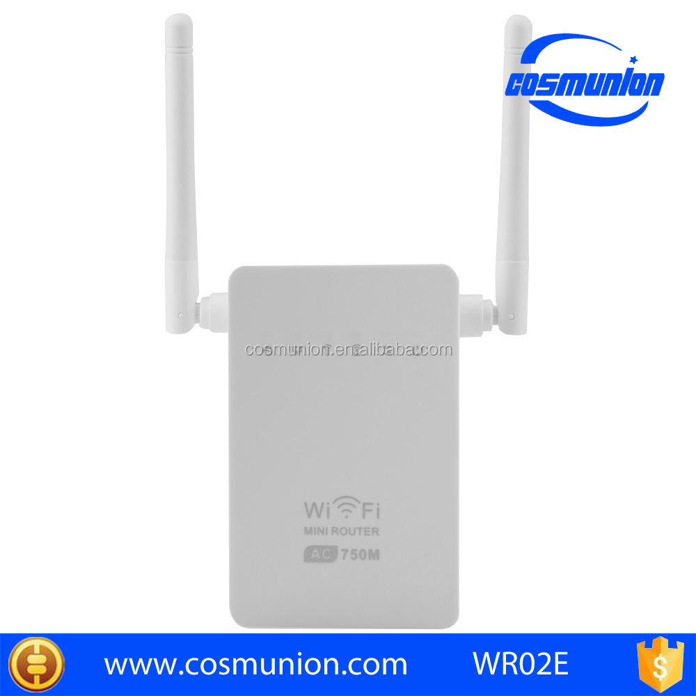 750mbps 2.4G+5.8G dual band wifi repeater from china factory