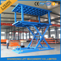 3Ton 3M Strong Hydraulic Scissor Lift For Basement with CE
