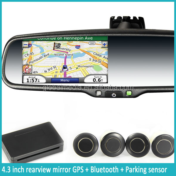 Universal remote control gps children tracker pet chip touch screen monitor garmin rearview mirror gps navigation