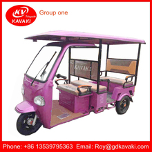 China Supplier Battery Operated Passenger Rickshaw / Tuktuk / Tricycle For Indian Market