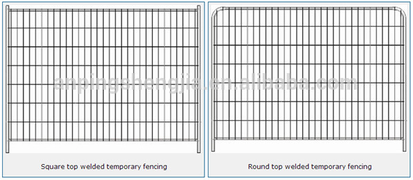 Portable Movable Fencing Used Temporary Fence Chain Link