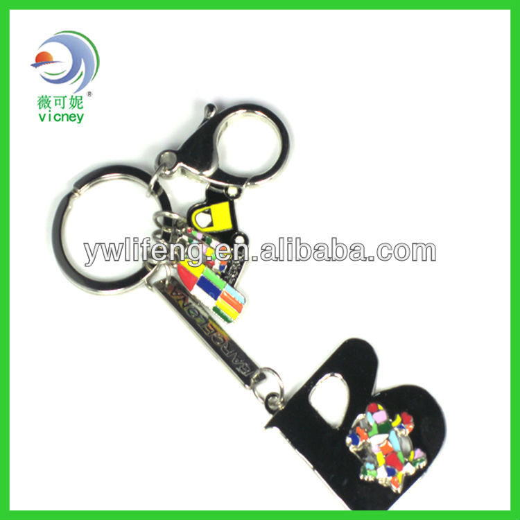 Venice new design metal key chain