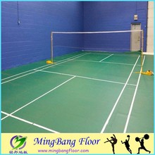 hot sale basketball court pvc laminate floor Best Price PVC Sports Flooring For Basketball Court/Tennis basketball court mat