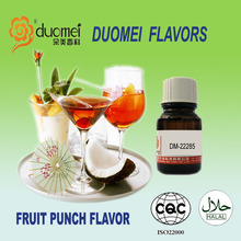 2016 Duomei new flavor:DM-22285 natural fruit punch whiskey flavor