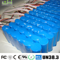 6600mah 12v 18650 lithium ion battery pack
