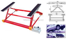 1500kg mini tilting car lift for quick repair service
