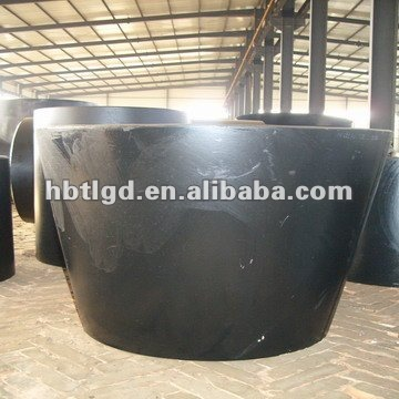 China DIN2605/JIS B2311 carbon steel seamless socked weld con/ecc reducer