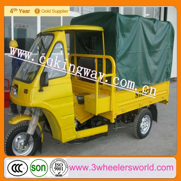 Chongqing Manufacture 175cc Top Seller Three Wheel Motorcycle for Passenger Tricycle