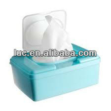 baby auto cleaning wipe/baby wipe in container
