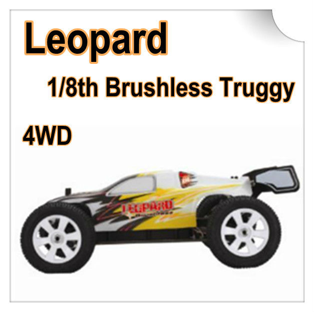 FS-33604 1/8 4WD 2.4G brushless truggy Car(Leopard), 60-70KM/H
