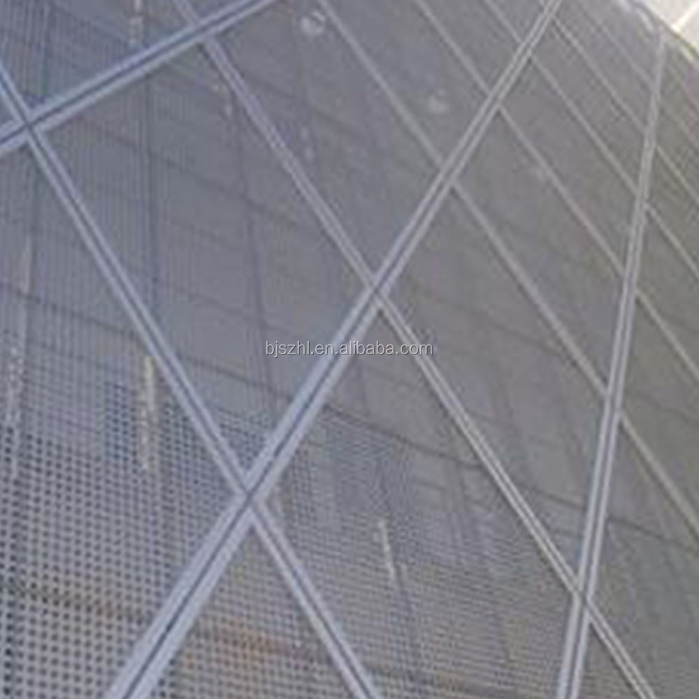 3mm hole galvanized sus 304 perforated metal screen mesh