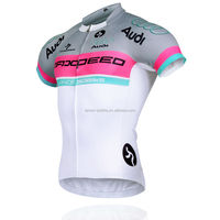 Attracting men custom made cycling jersey/MITI fabric cycling jersey