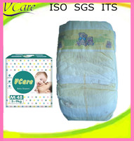Wholesale soft clothlike film baby cloth diaper with prints