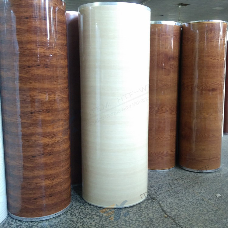 Wood Pattern Finish Hot Stamping Foil For MDF WPC PVC Plastic Floor