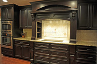 modular Solid wood Kitchen cabinet