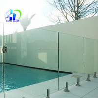 clear float window door curtain wall fence panel tempered glass
