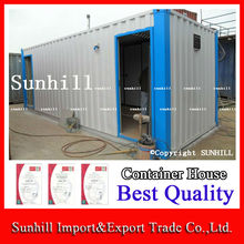 Happy New Year! 20' Used Flat Packed Container Office/Storage Office Container