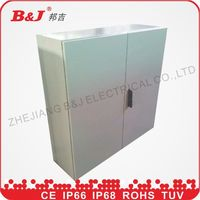high quality IP66 electricalsheet metal waterproof outdoor weatherproof control box/distribution switch box