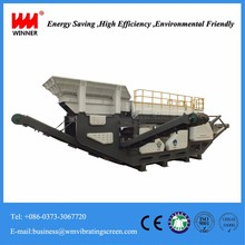 Urban construction solid garbage disposal plastic recycling machine price