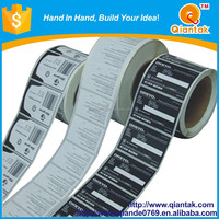 Factory Custom Strong Adhesive Paper Sticker Packaging Labels