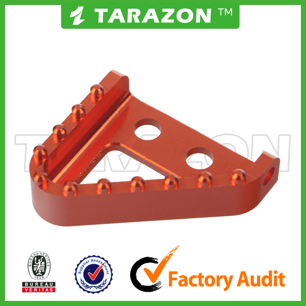 Aluminum alloy step plate for KTM SX brake pedal