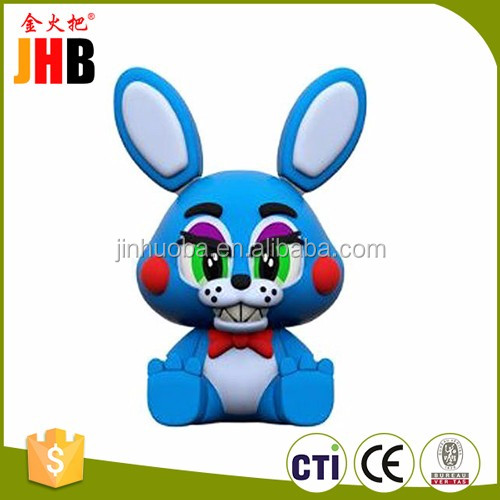 Custom Resin Five Nights at Freddy Bobblehead Doll for Home Decor