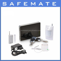 GSM SMS Wireless & Wired Voice Home Alarm Security System LCD Auto Dialer