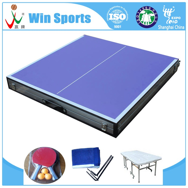 zhejiang small size kids mini tennis table folding model