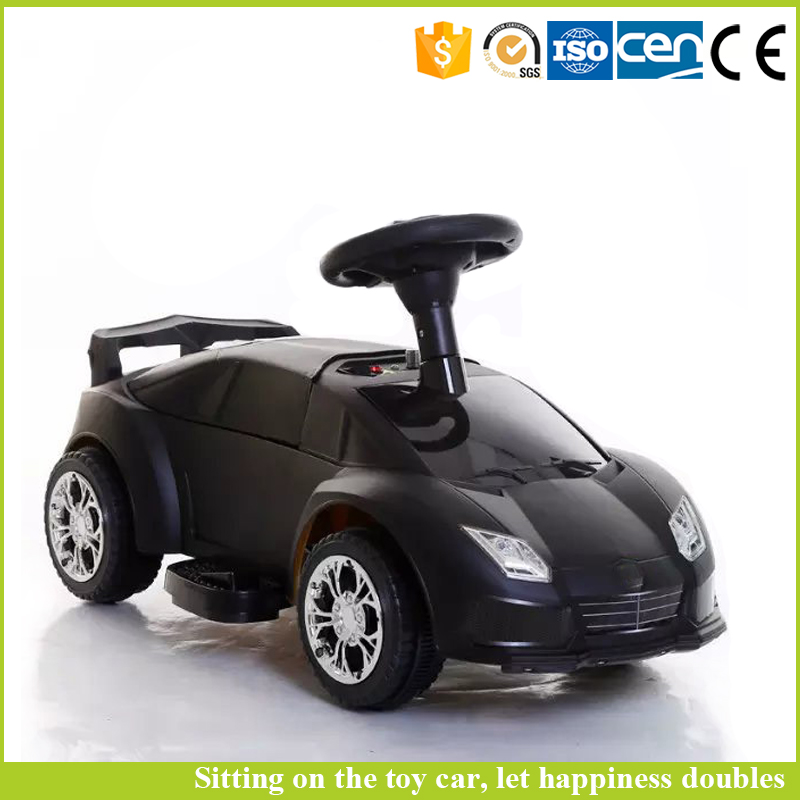 Children electric toy car price factory sale kids ride on mini baby car with light