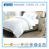 2016 YINTEX Pure White Anti-mite Polyester Yurkish Comforters For Adult