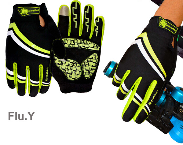 Good quality bike gloves with touch screen new arrivals cycling gloves with velvet warm bicycle gloves 4 colors