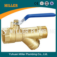 Attractive and durable Best sell Saudi Arabia ball valve dn 20 or dn40 or dn50 Brass Filter Valve
