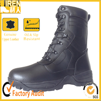 Genuine Leather fashion french army combat boots