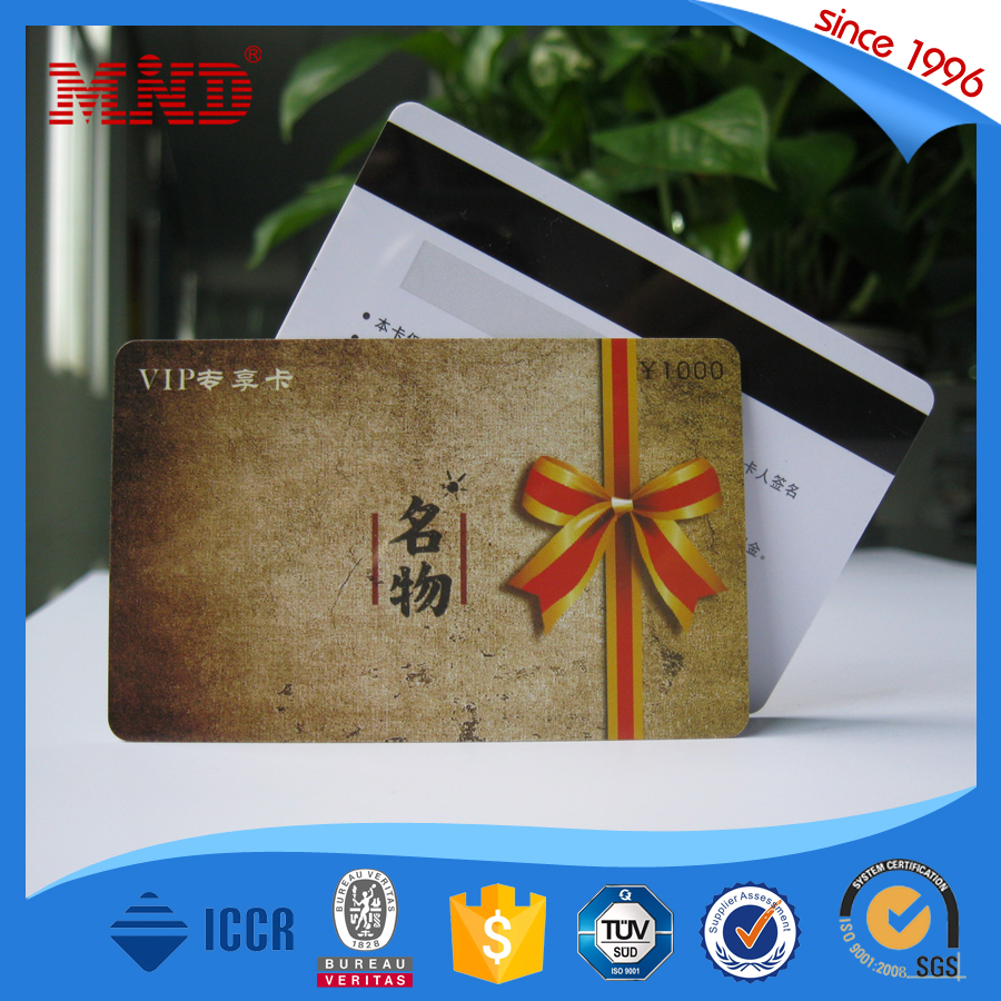MDP632 4C Full Color Printing Magnetic Stripe Gift Card
