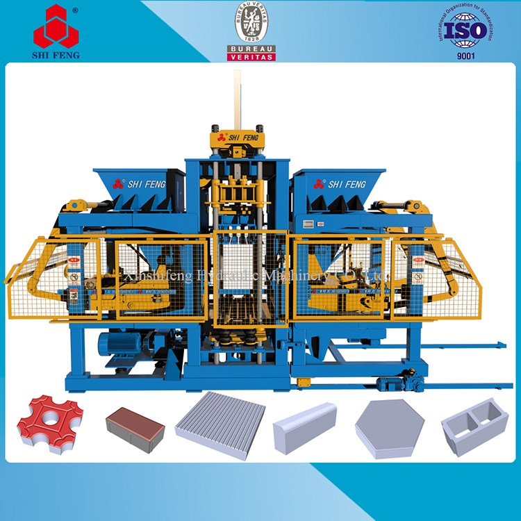 International advanced hydraulic press block machine in italy