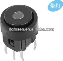 round button tact switch with led TS-2012